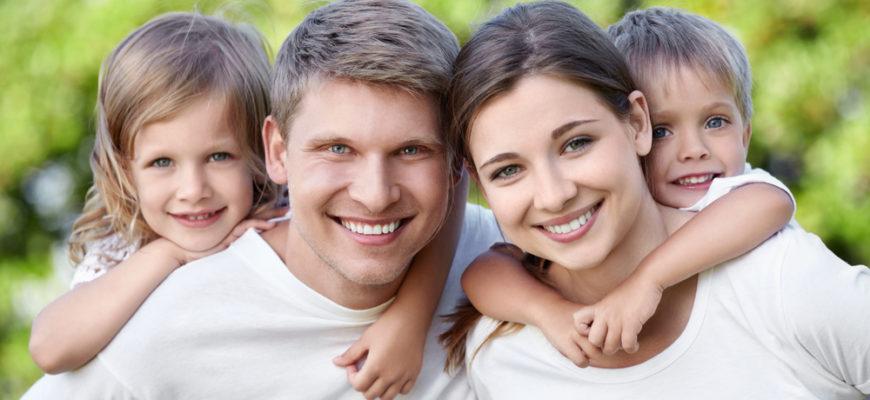 Муж, жена и дети
