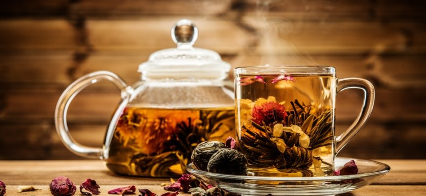 Статусы про чай