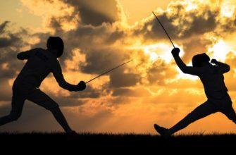 Статусы про фехтование