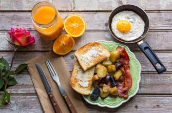статусы про завтрак